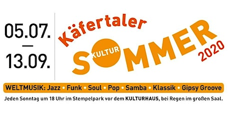 Käfertaler Kultursommer - 6 - Triooo Maravilha - The Wonder Trio Tickets