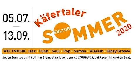 Käfertaler Kultursommer - 9 - Zelia Fonseca Trio Tickets
