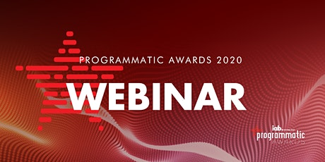 Programmatic Awards Webinar #3 tickets
