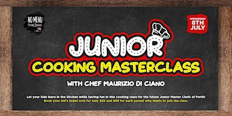 Junior Cooking Masterclass tickets