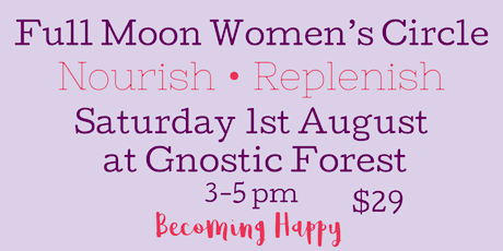 Full Moon Women's Circle - August 1st tickets