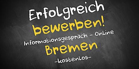 Bewerbungscoaching Informationsgespräch Online - AVGS Bremen Tickets
