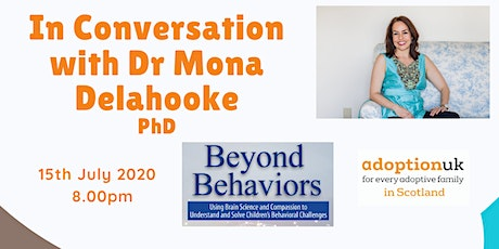 In Conversation with Dr Mona Delahooke tickets