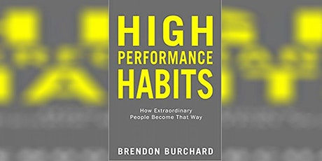 EBBC Brussels - High Performance Habits (B. Burchard) tickets