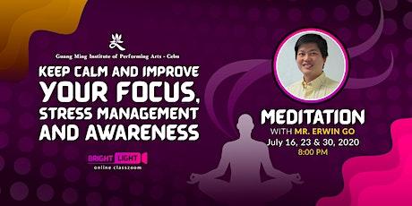 Online Meditation Workshop tickets