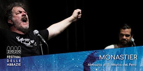 """FESTIVAL DELLE ABBAZIE - """"Raixe Storte"""" biglietti"""