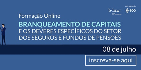 Branqueamento de capitais no setor dos seguros e fundos de pensões bilhetes