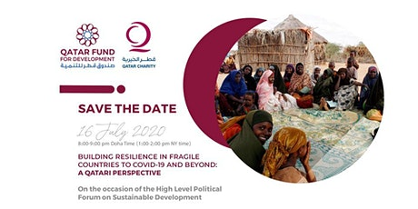HLPF: Building Resilience in fragile countries to COVID-19 and beyond tickets
