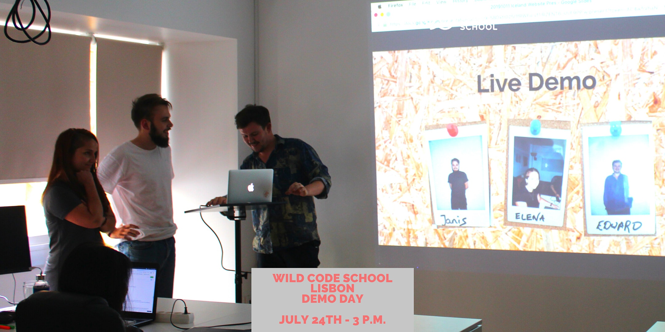 Wild Code School Lisbon - Demo Day!
