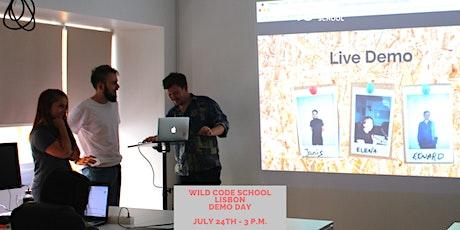 Wild Code School Lisbon - Demo Day! tickets