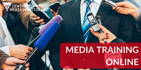 Media Training Online: Introduction to Media Monitoring tickets