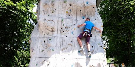Nutzung Kletterturm am 10. Juli Nachmittag Tickets