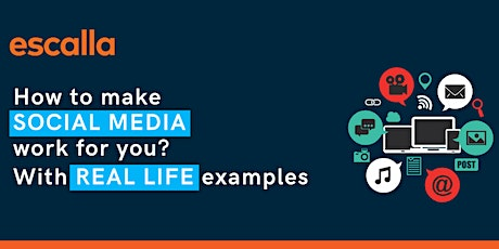 How to make Social Media work for you - Using real life examples tickets