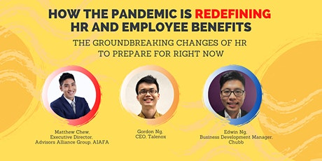 How the Pandemic Is Redefining  HR and Employee Benefits tickets