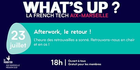 Afterwork What's up la French Tech Aix-Marseille billets