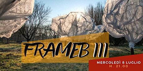 Frameb III biglietti