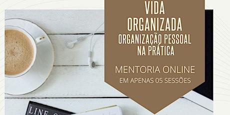 MENTORIA ONLINE - VIDA ORGANIZADA - Técnicas de Organização Pessoal bilhetes