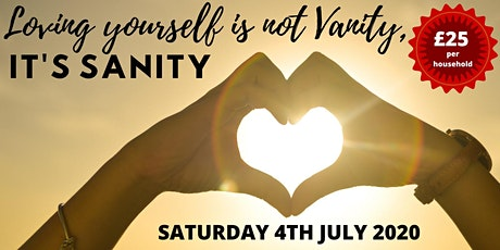 Loving yourself is not vanity, it's sanity tickets