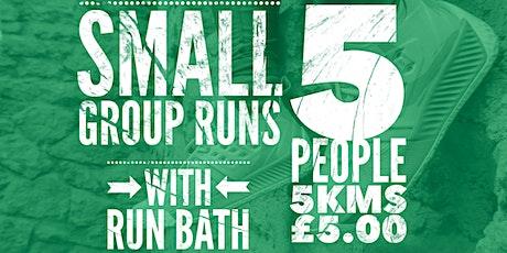 Run Bath, Small Group Run tickets