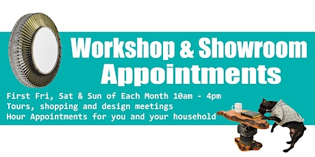 October Dappr Workshop and Showroom Appointments tickets
