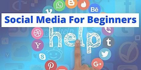 Social Media for Beginners tickets