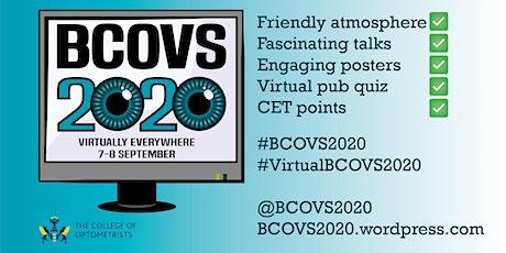 BCOVS 2020 tickets