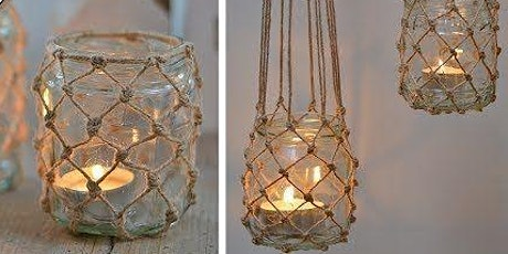 Macrame Lanterns - Workshops by the Water tickets