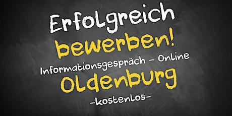 Bewerbungscoaching Informationsgespräch Online - AVGS  Oldenburg Tickets