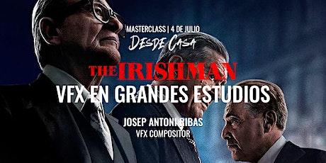 "Masterclass: ""The Irishman: VFX en grandes estudios"" – Josep Antoni Ribas entradas"