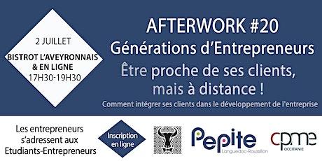 Clients - Afterwork #20 Générations d'Entrepreneurs billets