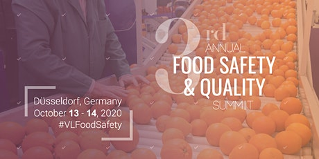 3rd Food Safety & Quality Summit tickets