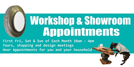 December Dappr Workshop and Showroom Appointments tickets