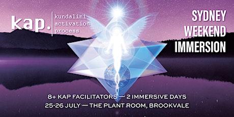 KAP Weekend Immersion tickets