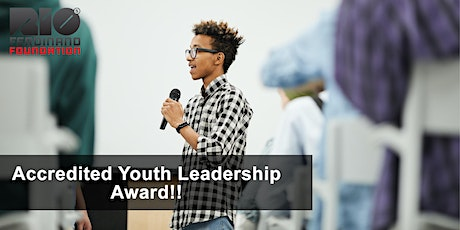 RFF Youth Leadership Award - Free accredited qualification in leadership tickets
