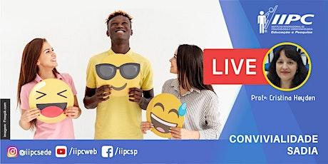 Live - Convivência Sadia ingressos