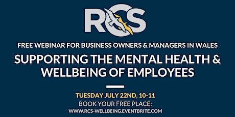 Webinar: Supporting the Mental Health & Wellbeing of Employees tickets