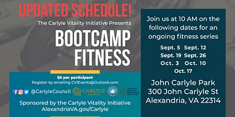 Bootcamp  Series starts on September 5th! tickets