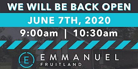 Copy of Emmanuel Fruitland Services tickets