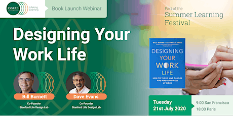 Designing Your Work Life with Dave Evans and Bill Burnett Tickets
