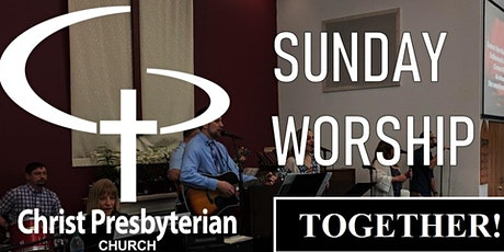 In-Person Sunday Worship tickets