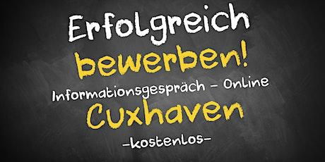 Bewerbungscoaching Online kostenfrei - Infos - AVGS Cuxhaven Tickets