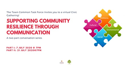 Supporting Community Resilience Through Conversation tickets