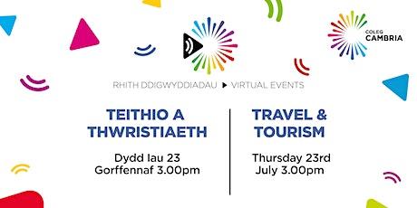 Travel & Tourism | Teithio a Thwristiaeth bilhetes