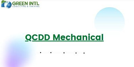 Qatar Civil Defence (QCDD) Exam Preparation- Mechanical tickets