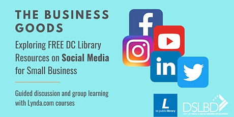 Social Media for Your Small Biz!  Week 2: Name your goals! tickets