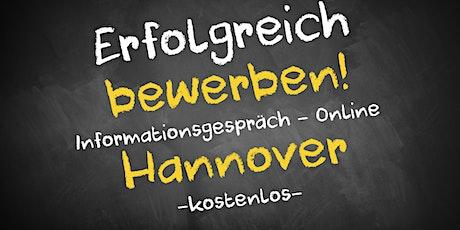 Bewerbungscoaching Online kostenfrei - Infos - AVGS Hannover tickets