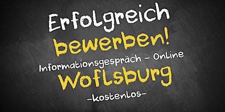 Bewerbungscoaching Informationsgespräch Online - AVGS Wolfsburg Tickets
