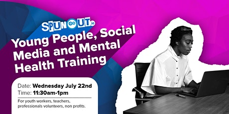Young People, Social Media and Mental Health tickets