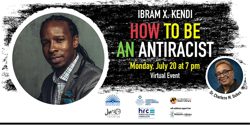 Ibram X. Kendi on How to Be An Anti-Racist event