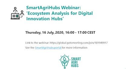 Webinar: 'Ecosystem Analysis for Digital Innovation Hubs' tickets